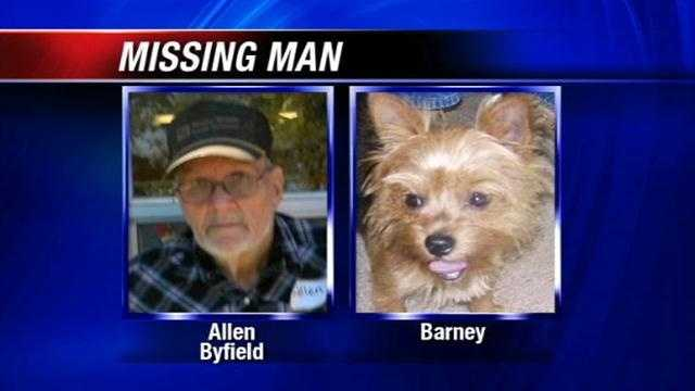 A man missing for nearly 3 days is now back with his family. 74-year-old Allen Byfield dissappeared tuesday afternoon. Grady County Sheriff's Deputies found him and his dog Barney in chickasha overnight.