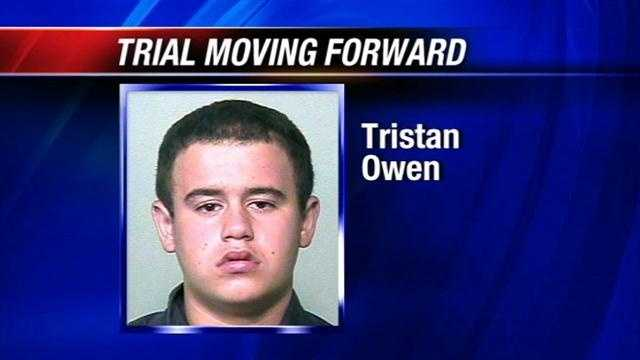 Today jury selection begins in the trial for a teen charged with killing an elderly couple. Police say 16-year-old Tristan Owen threw a molotov cocktail at the couple's home.