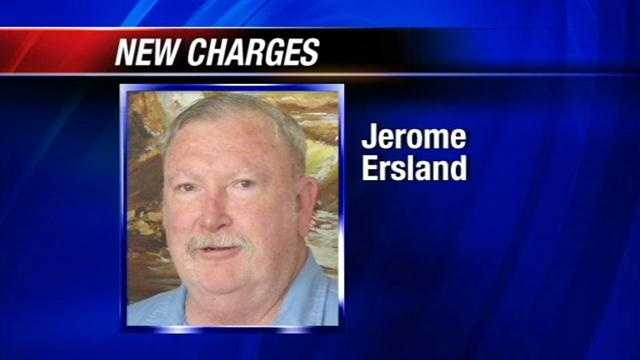 Jerome Ersland and his son are both facing charges after Jerome is found with contraband in prison. Officials say his son Jeffrey Erslands brought pain killers into prison during a November visit.