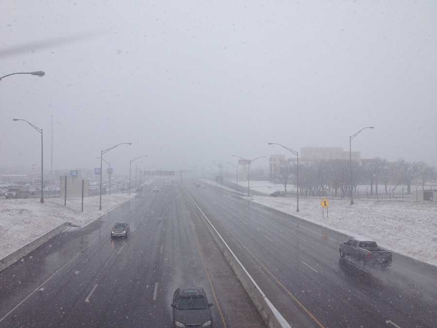 I-40 and Sooner Roads.