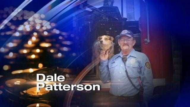 Dale Patterson was also the fire department's chaplain.