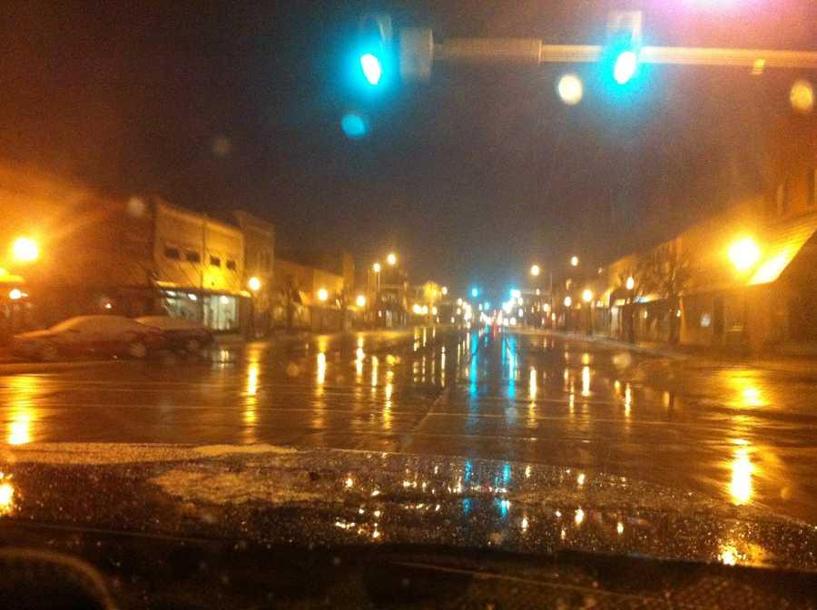 Photo by Dan Thomas, Elk City (after early-morning snow melted)