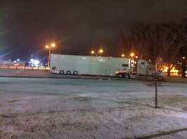 Photo by Dan Thomas, Elk City (early-morning snow)