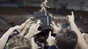 """The Edmond North Huskies left the """"Big House"""" the number one team in Class 6A after the team totaled 125.50 points, beating out Broken Arrow who had only 98.50 points."""