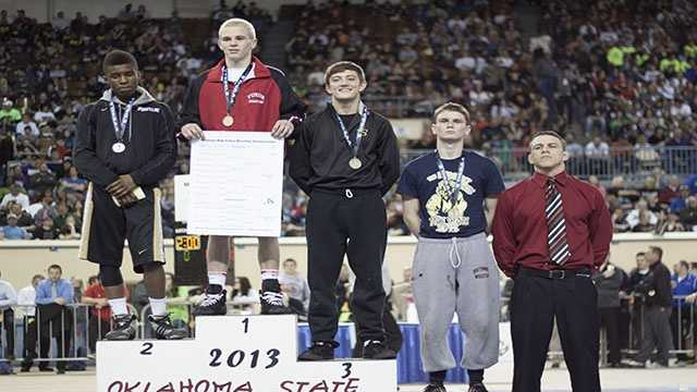 Champion: Boo Lewallen, Yukon. Second place: Markus Simmons, Broken Arrow. Third place: Cody Karstetter, Sand Springs. Fourth place: Zac Damico, Southmoore.