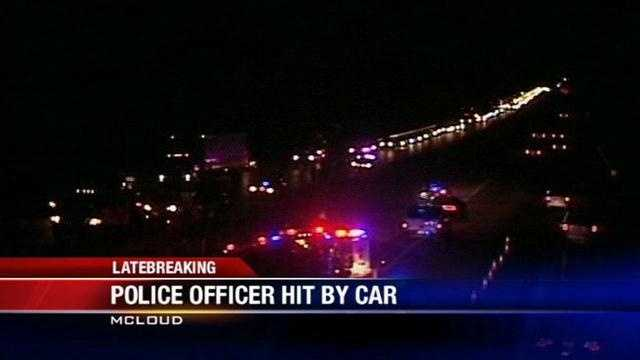 The accident happened on I-40 near McLoud.