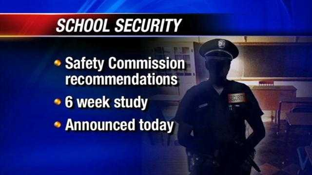 Today members of the school safety commission will announce ways Oklahoma can improve the student safety.