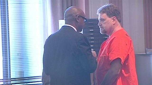 Bond was denied for Michael Scott Elder, 53, who is accused of killing his son-in-law Gary Davidson.