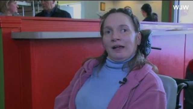 Pizza place hires disabled adults