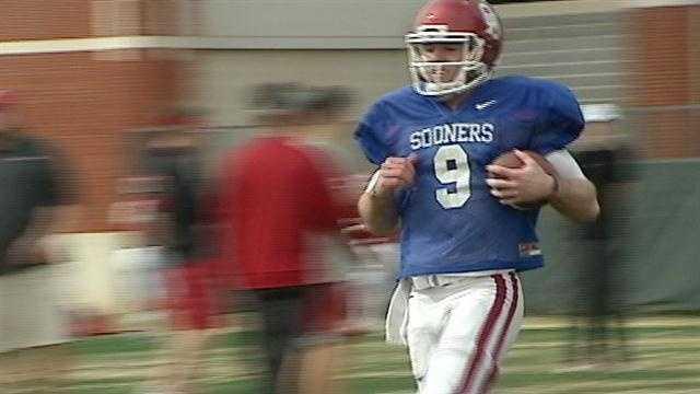 img-Quarterbacks the story in Sooners spring practice