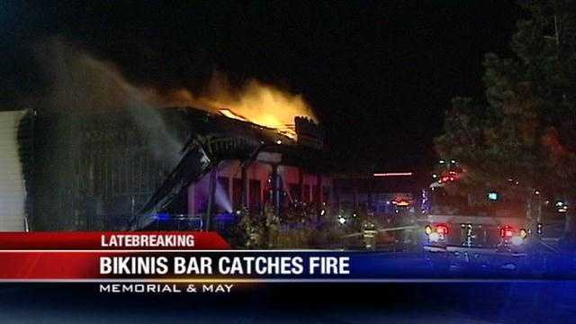 Oklahoma City sports bar severely damaged in fire