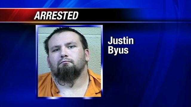 Justin Byrus was arraigned Friday on a probable cause affidavit. He is being held without bond. Byus initial court appearance is set for April 15. Justin Byus, 25, called a friend just before 4 a.m. after allegedly shooting and killing his estranged wife, Cathy Hass Byus, officers said.