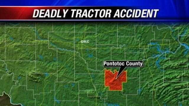 Man dies in tractor accident