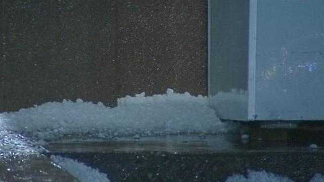 Severe storms slammed Norman over the weekend.  Golf ball-sized hail knocked out more than 80 windows in one complex and wind speeds approached 60 mph.  Residents said they did everything they could to stay safe.