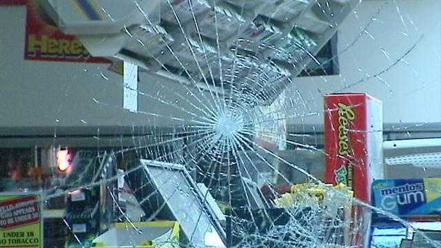 A burglar targeted a closed convenience store but the person didn't get away with much.  The thief hit a 7-11 near Northwest 59th and May Avenue overnight. The crook used bricks to bash the windows and stole some cigarettes.