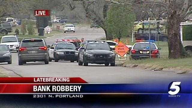 OKC bank robbery under investigation