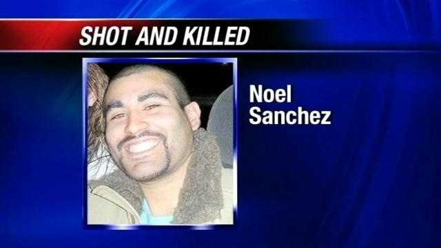 Investigators say Noel Sanchez was shot by his mother's boyfriend.