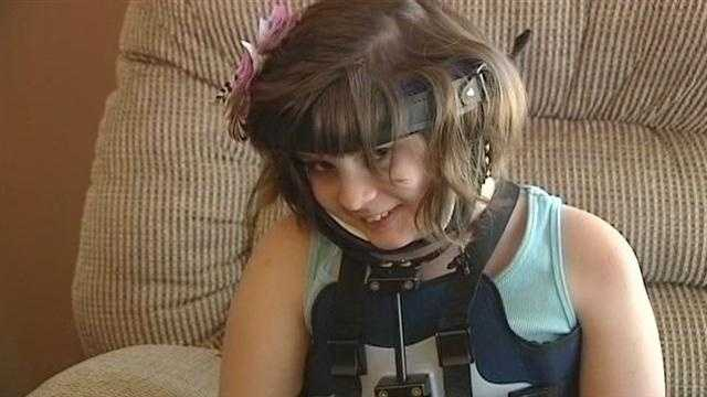 An 11-year-old girl is on an incredible path to recovery after being critically hurt in a crash last month near Wellston.