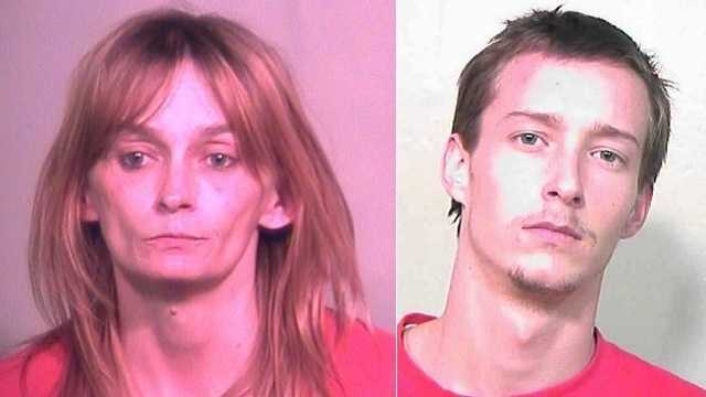 Left: Jena Holstien. Right: Dustin Bartgis.