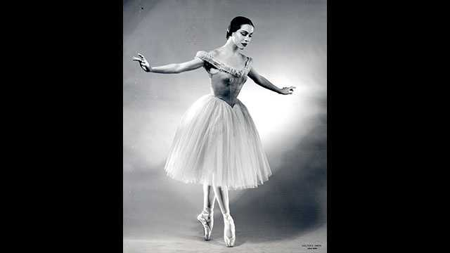 Maria Tallchief in George Balanchine's Scotch-Symphony