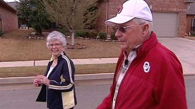 The American Heart Association is hosting the 2013 Heart Walk this Saturday. The KOCO morning team will be there as well this couple, married for 64 years.