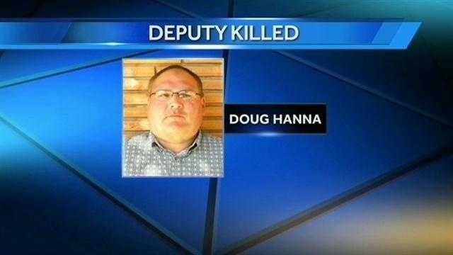 Deputy Doug Hanna worked for the Washita County Sheriff's Department.
