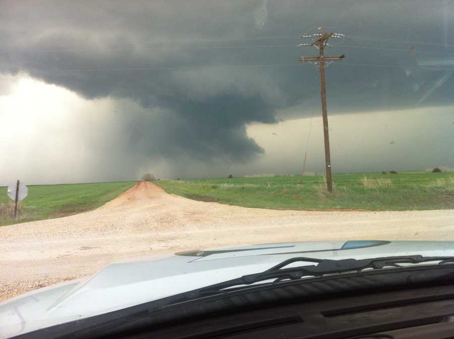 This one was snapped about 8 miles southwest of Alva.