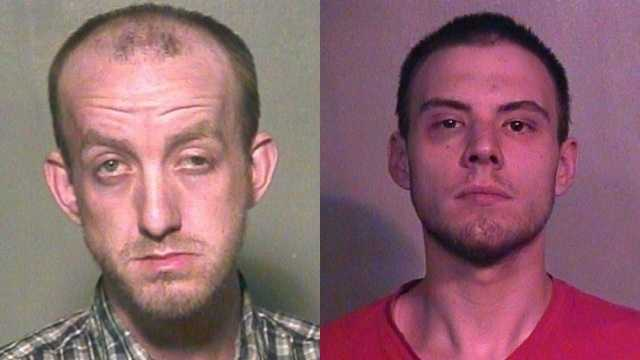 Left: James Eric Eidson. Right: Steven Joseph Clapper.