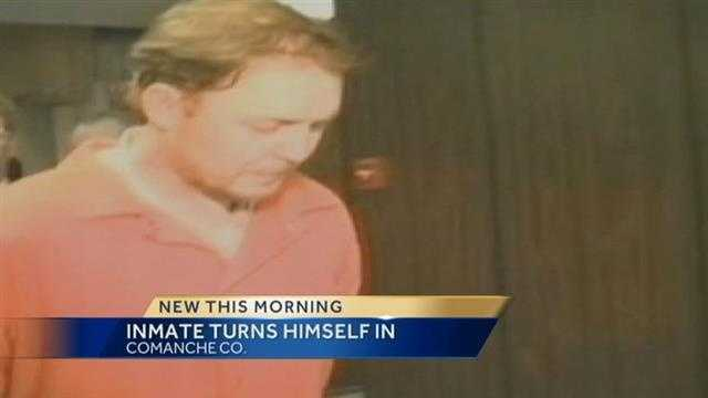 Inmate missing since 1999 surrenders in Oklahoma