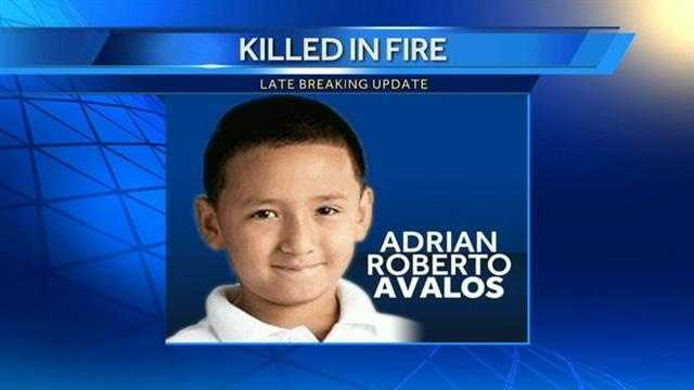 Raging fire kills 7-year-old boy