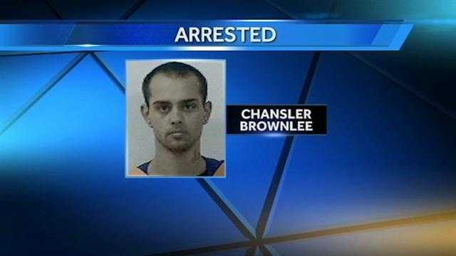 A 20-year-old Norman man is in jail after police say he stole a car and broke into a church when he ran out of gas.