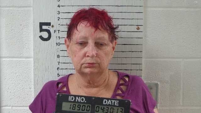 Marla Sue Satterfield, 62, was arrested on suspicion of animal cruelty after 33 dogs were found near death, Canadian County sheriff's deputies said. Click here for the story.