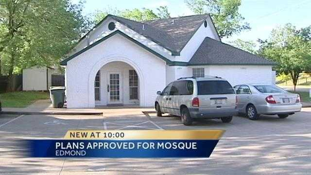 An Edmond mosque has taken a major step toward a new building. Tuesday, following months of controversy, the planning commission approved plans for expansion.