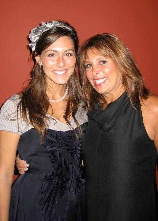 Erielle Reshef and her mom.