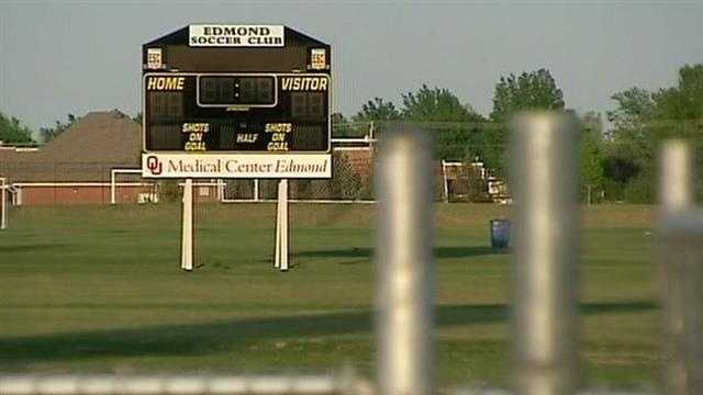 Edmond police say thieves stole designer purses and money from parked cars at a soccer field.