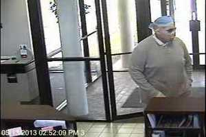 Police said the robbery happened at the Bank of Oklahoma, 11300 N. May Ave.
