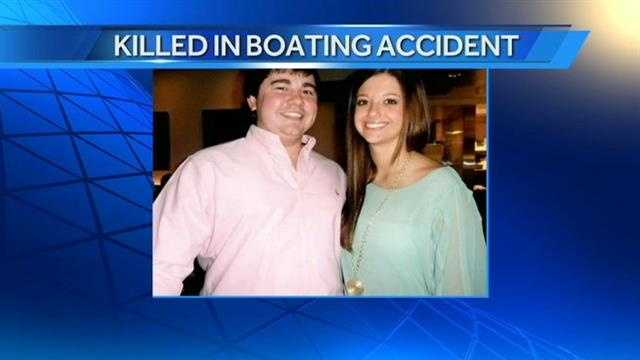 Two people are dead after a boating accident on Grand Lake. Rachel Swetnam, a former National American Miss Oklahoma, and an Arkansas man were killed in the Tuesday accident.