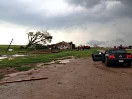 Carney home severely damaged