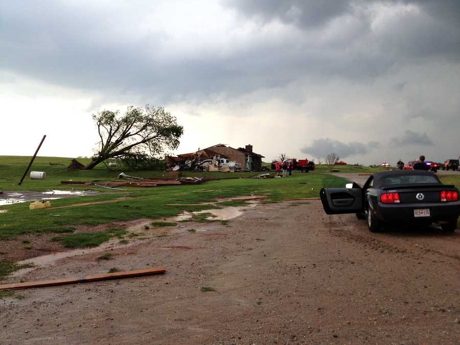 Carney home severely damaged