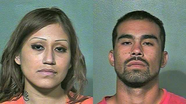 Left: Paulina Lerese Cruz, 26. Right: Julio Cesar Nevarez, 19.