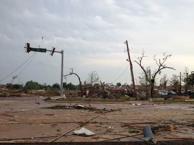 Southeast 4th and Bryant Avenue in Moore