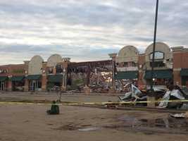 Camden Village shopping center - Moore
