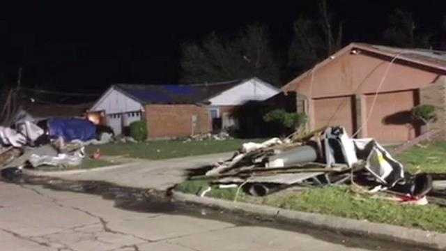 Raw Video: Moore Neighborhoods