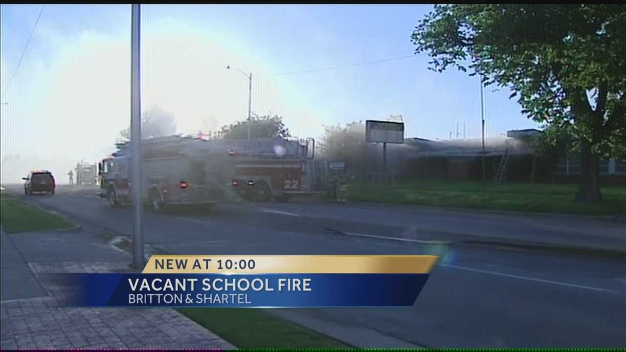 Authorities believe a fire at the Gateway Academy in northwest Oklahoma City on Thursday night may have been arson.