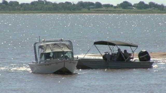 img-Boy disappears while camping at Waurika Lake