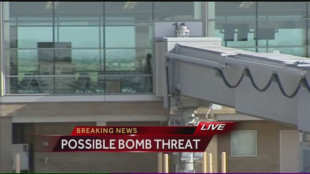 Police respond to reports of bomb threat at  Will Rogers World Airport.