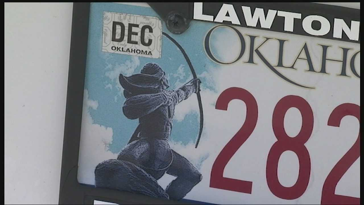 There is new reaction about an image that appears on many Oklahoma license plates. It's an image of the sacred Rain Arrow Sculpture, and it's recently the subject of a lawsuit.