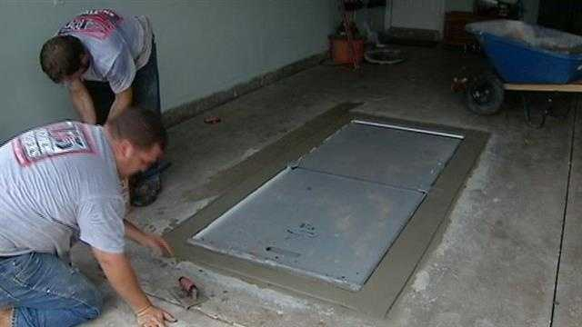 Storm shelter companies have six-month back log