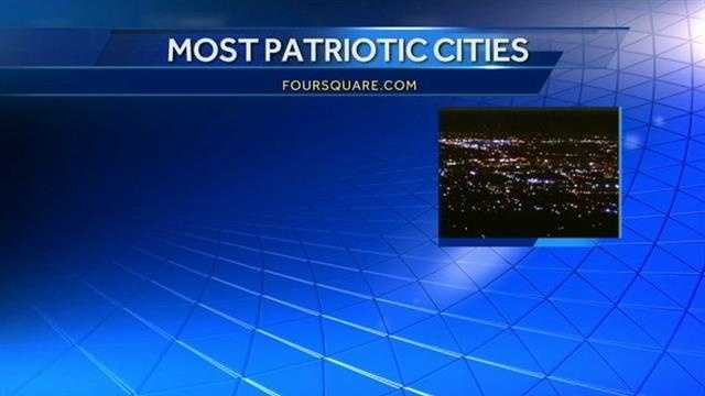 Proud to be American. Oklahoma City is the 2nd most patriotic city in the entire country.