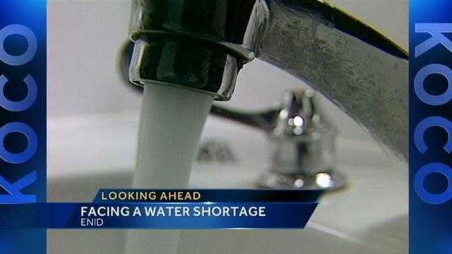 Enid facing major water woes by the end of summer.